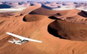 Flying over the Sossusvlei
