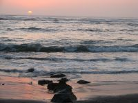 Swakopmund Beach at Sunset